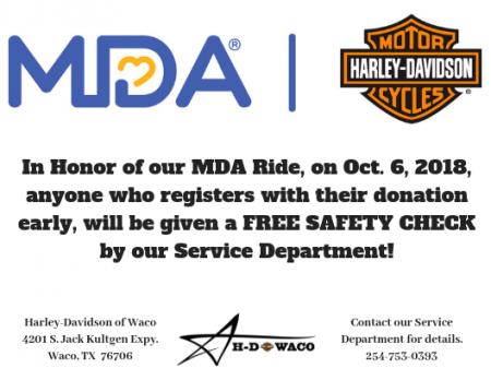 MDA Ride Special