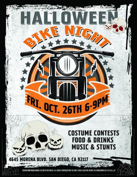 HALLOWEEN Bike Night!