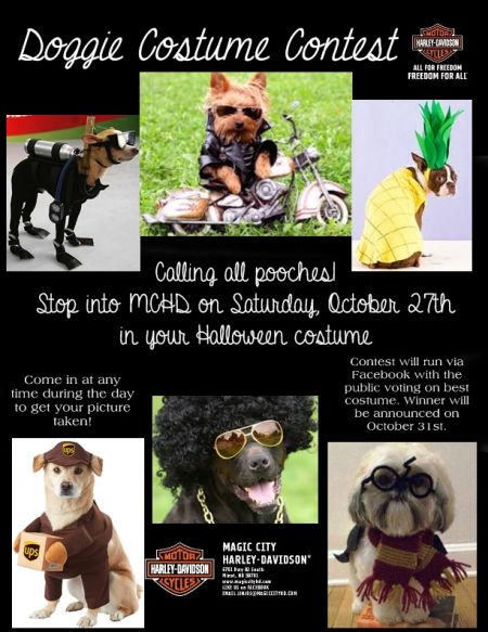 Doggie Costume Contest