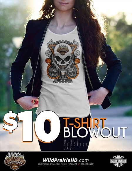 $10 T- Shirt Blow out!