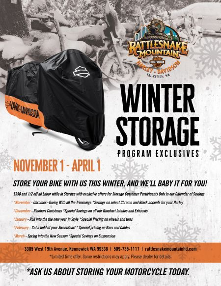 Ask About Winter Storage