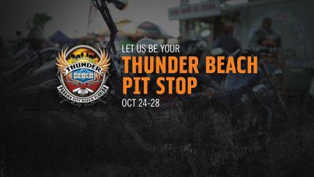 THUNDER BEACH PIT STOP!