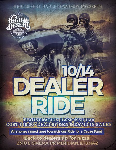 Ride for a Cause, Dealer Ride