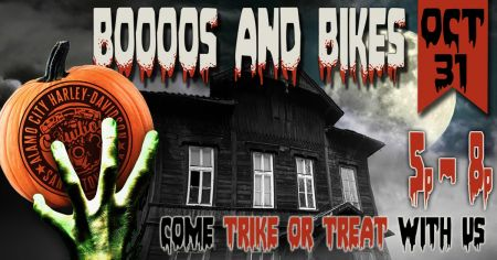 Booos and Bikes Trike or Treat Night