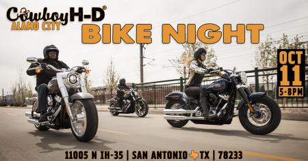 Bike Night at Cowboy's Alamo City H-D