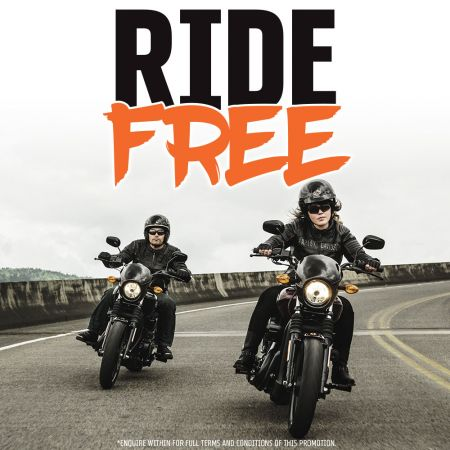 Ride It Free At Canberra Harley®