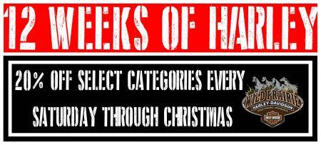 12 Weeks of Harley!