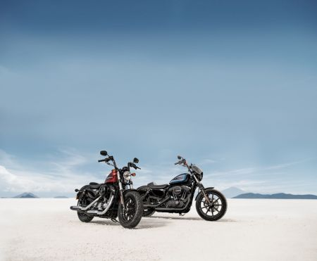 NEW HARLEY-DAVIDSON FORTY-EIGHT SPECIAL AND IRON 1200 SPORTSTERS FUSE THROW-BACK DESIGN WITH MODERN PERFORMANCE