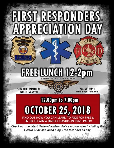 2018 First Responders Appreciation Day