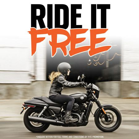 Ride It Free At Central Coast Harley®