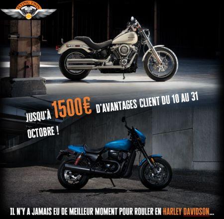 Opération spéciale octobre: jusqu'à 1500€ de chèque cadeau !!