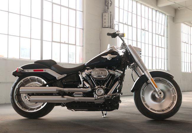 Brunswick Harley Davidson >> 2019 Harley Davidson Flfbs Softail Fat Boy 114 Brunswick