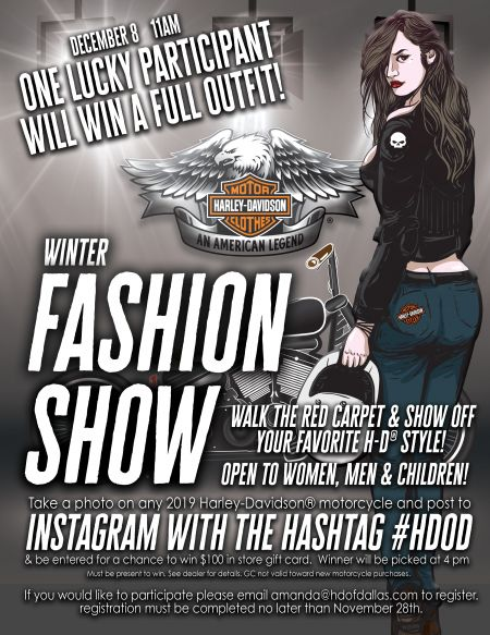 Winter Fashion Show Event -- Win a Full Outfit!
