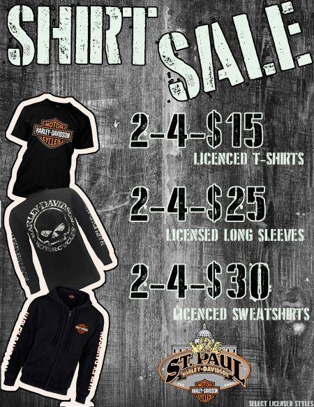 Licensed Logo shirt sale!