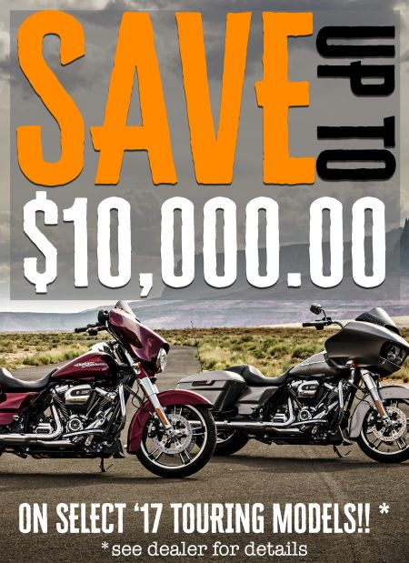 Save up to $10,000 on 2017s!