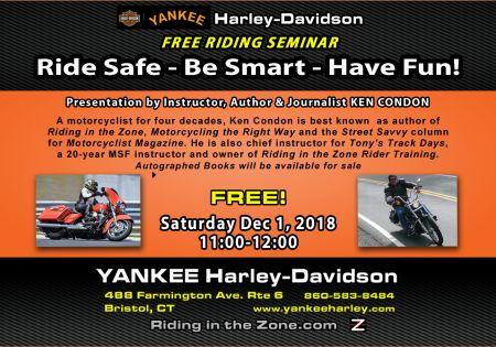 Free Riding Seminar with Ken Condon