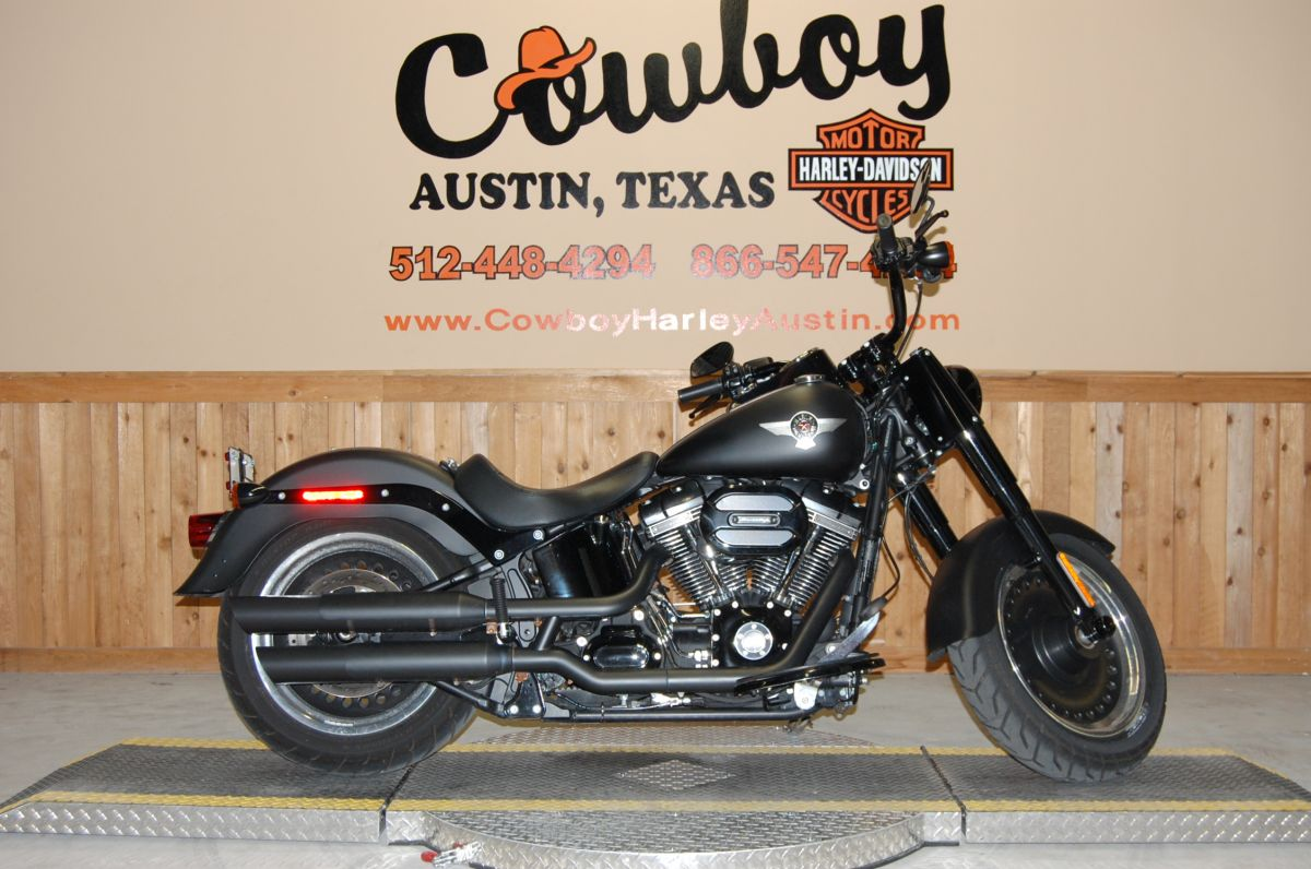 2016 Harley-Davidson FLSTFBS Fat Boy S-series