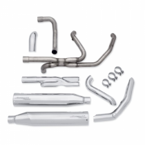 Screamin Eagle High-flow Exhaust System with Street Cannons