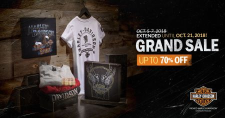 GRAND SALE is Extended. Still Up to 70% Off until Oct 21