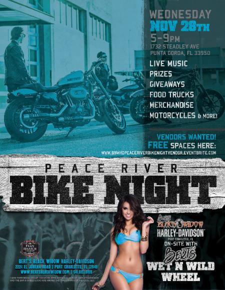 Bert's Peace River Bike Night