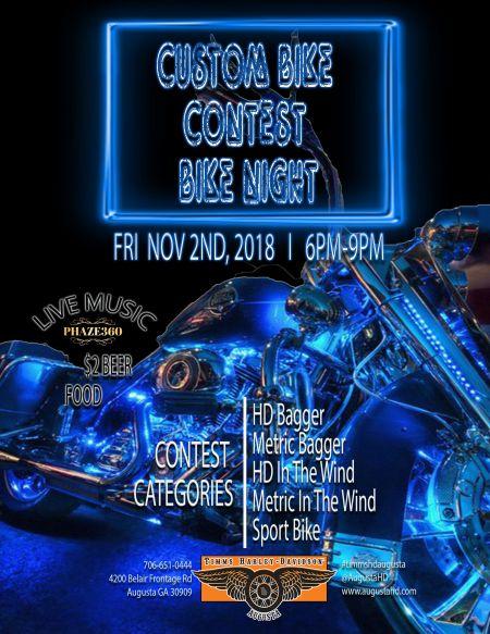 Bike Night: Custom Bike Contest