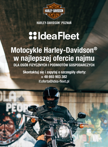 HARLEY-DAVIDSON® W NAJLEPSZEJ OFERCIE NAJMU!