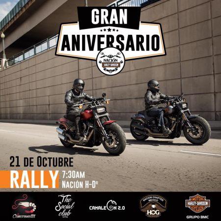 Rally 2°Aniversario Harley-Davidson Nación