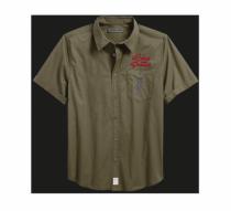 Textured Linen Blend Shirt