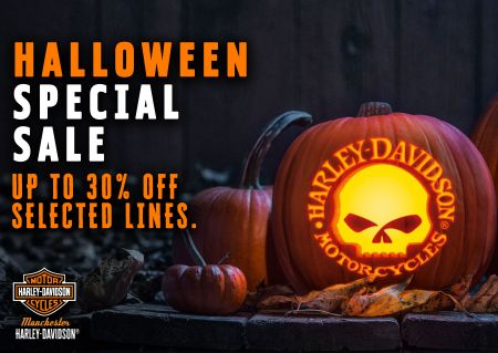 HALLOWEEN SPECIAL! Up to 30% OFF Selected Clothing Lines!