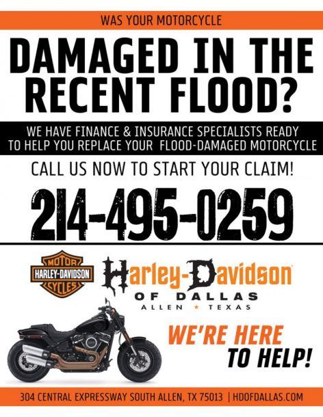 FLOOD DAMAGE?