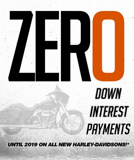ZERO DOWN, ZERO INTEREST, ZERO PAYMENTS