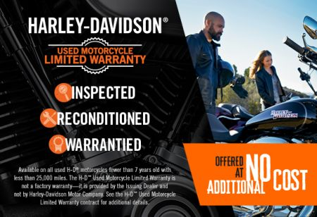 H-D™ Used Motorcycle Limited Warranty