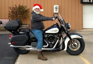 """Santa"" aka Earl and his new Heritage!"