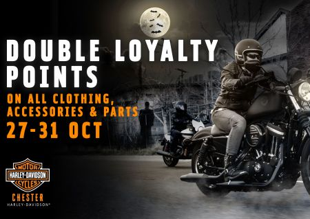 DOUBLE LOYALTY POINTS!