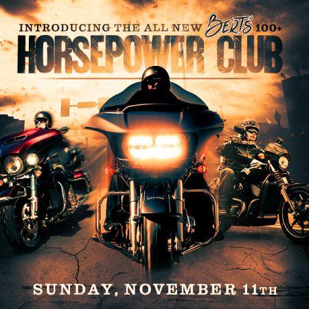 Bert's 100+ Horse Power Club