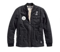 Quilted Canvas Slim Fit Jacket (97472-19VM)
