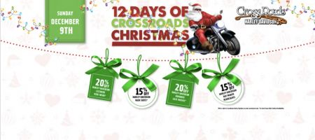CrossRoads H-D's 12 Days of Christmas