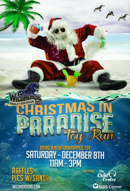 CHRISTMAS IN PARADISE ANNUAL TOY RUN