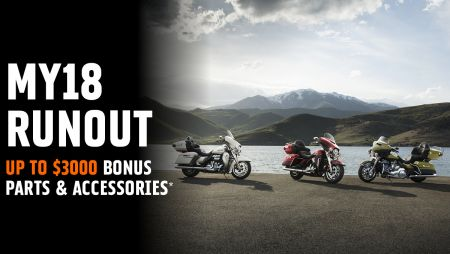 UP TO $3000 BONUS PARTS & ACCESSORIES*.