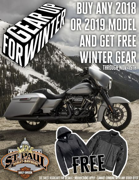 FREE Winter Gear With Bike Purchase!
