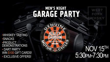 Men's Garage Party
