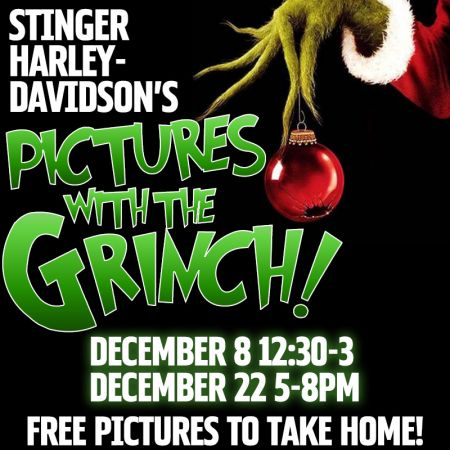 Pics with the Grinch!