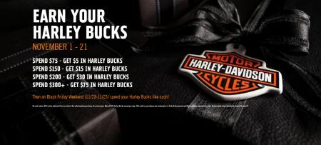 Harley Bucks Are Back!