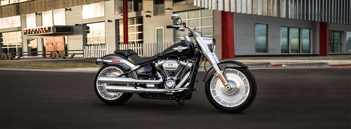 2019 Harley-Davidson<sup>®</sup> FLFBS — Softail<sup>®</sup> Fat Boy<sup>®</sup> 114