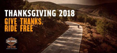 Thanksgiving 2018 Chester Harley-Davidson