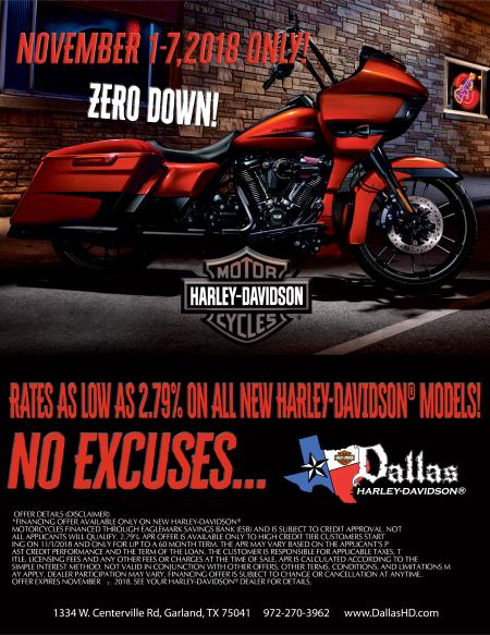 Fall Into Low Financing at Dallas HD!
