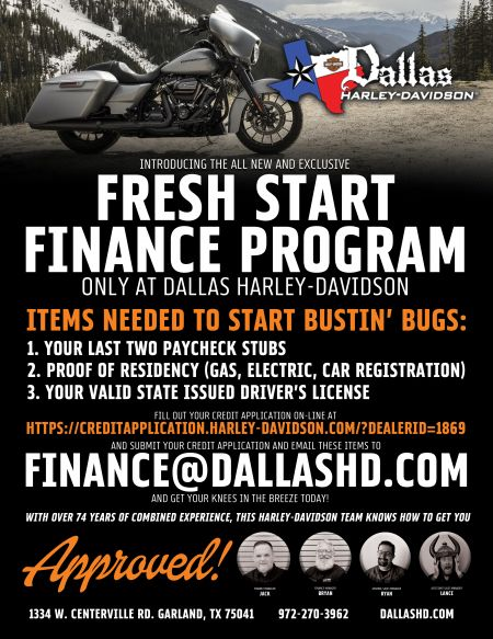 Fresh Start Finance Program