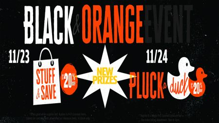 Black & Orange Friday