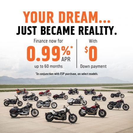 Pfaff Harley-Davidson® .99% special financing offer!