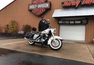 Mike and his 07 Road King!